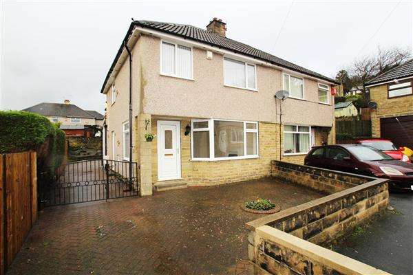 4 Bedrooms Semi Detached House for sale in Meadow Drive, Wheatley, Halifax
