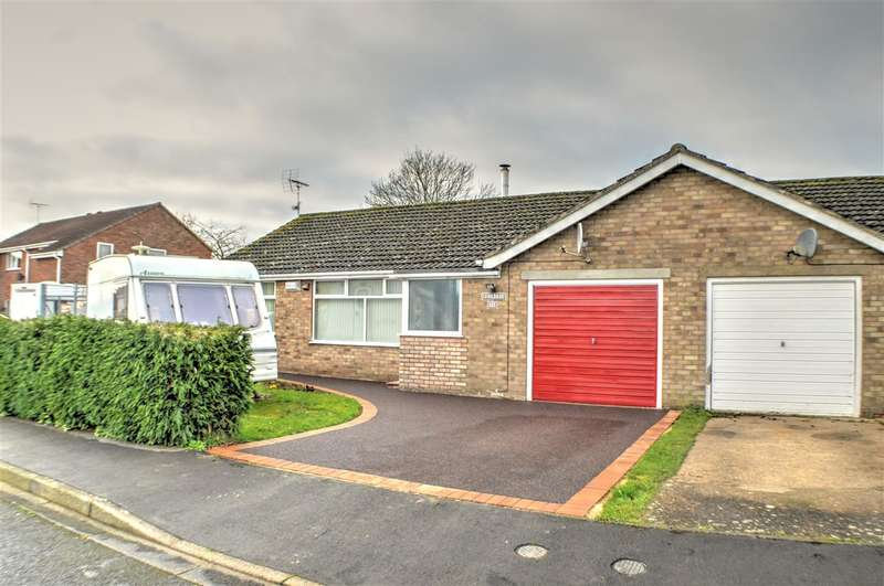 3 Bedrooms Bungalow for sale in Orchard Drive, Heckington