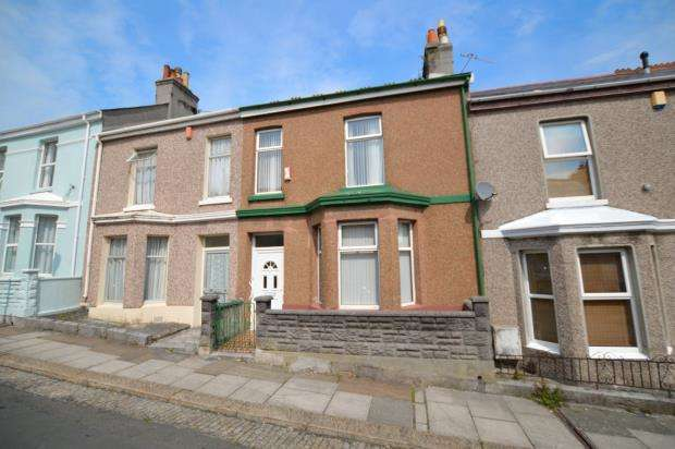 3 Bedrooms Terraced House for sale in Desborough Road, Plymouth, Devon