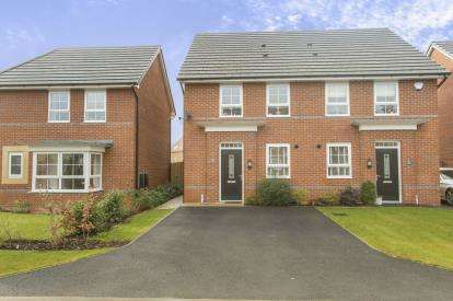 3 Bedrooms Semi Detached House for sale in Peter Fletcher Crescent, Elworth, Sandbach, Cheshire
