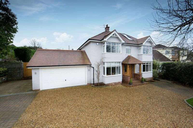 4 Bedrooms Detached House for sale in Dennyview Road, Abbots Leigh, BS8
