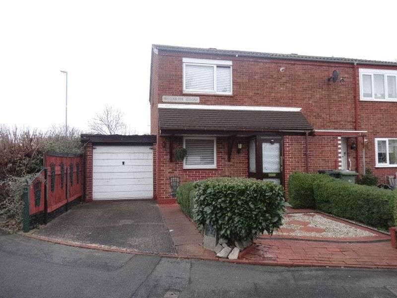2 Bedrooms Semi Detached House for sale in Hogarth Close, Willenhall