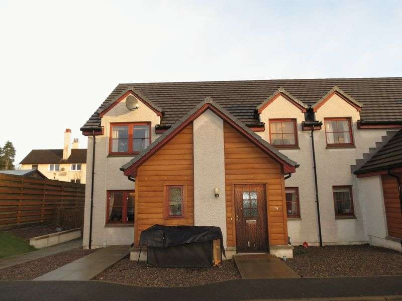 2 Bedrooms Flat for sale in Bught Drive, Inverness