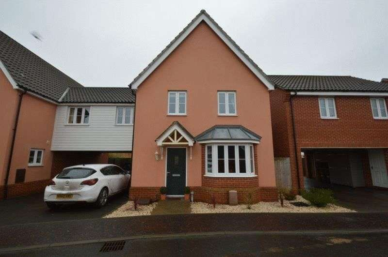 4 Bedrooms Detached House for sale in Worcester Road, The Hampdens, New Costessey, Norwich