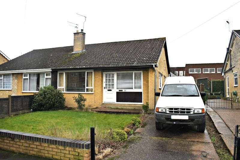 2 Bedrooms Semi Detached Bungalow for sale in Greystones Road, Gainsborough