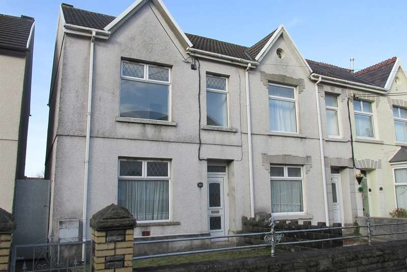 3 Bedrooms Semi Detached House for sale in Corporation Road, Loughor, Swansea