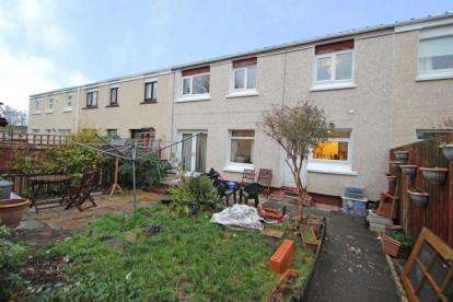 3 Bedrooms Terraced House for sale in Shiel Place, Irvine, North Ayrshire