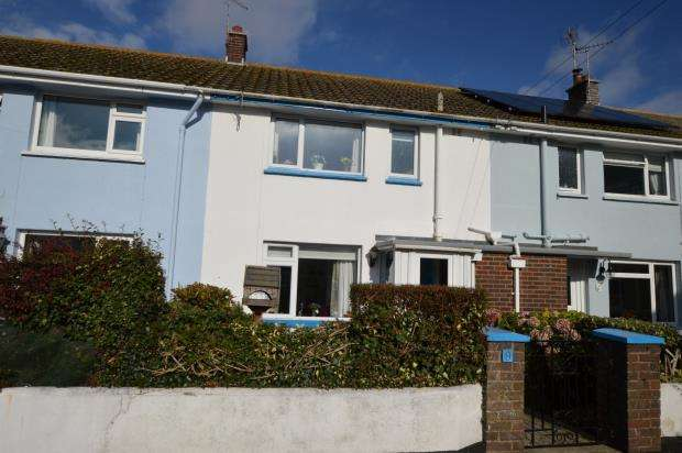 2 Bedrooms Terraced House for sale in Clifford Close, Shaldon, Devon