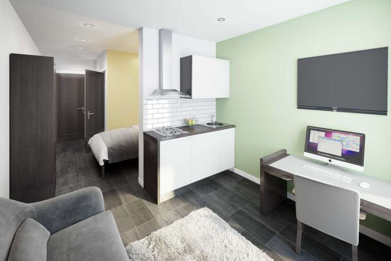 1 Bedroom Flat for sale in The Sky Building, Brunswick Street, Newcastle-Under-Lyme, ST5 1HG