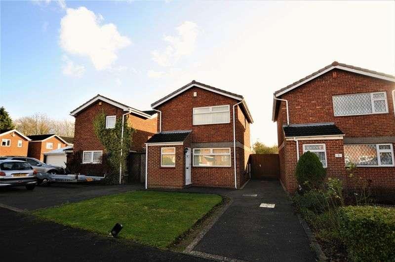 3 Bedrooms Detached House for sale in Alderfen Close, Derby
