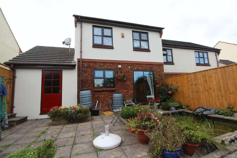 3 Bedrooms Semi Detached House for sale in Nightingale Close, The Willows, Torquay