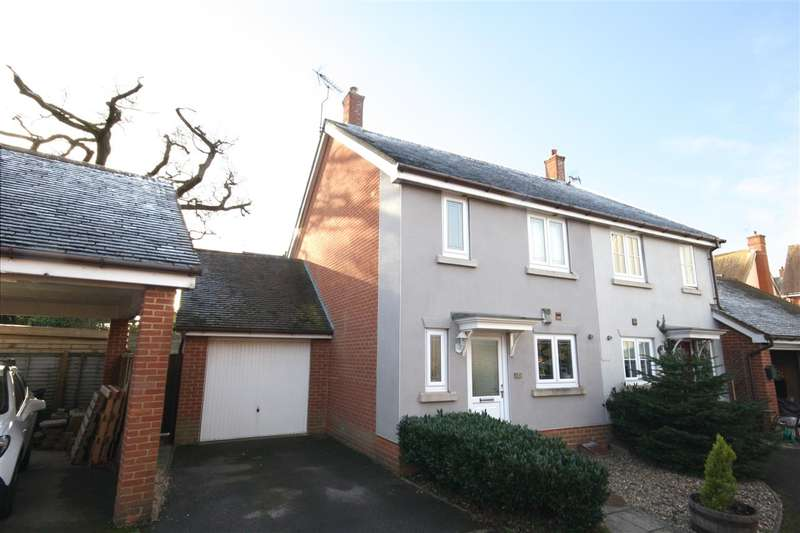 3 Bedrooms Semi Detached House for sale in Hatchmore Road, Waterlooville