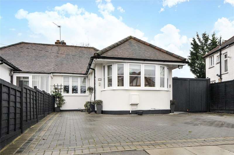 3 Bedrooms Semi Detached Bungalow for sale in Windermere Avenue, Eastcote, Middlesex, HA4