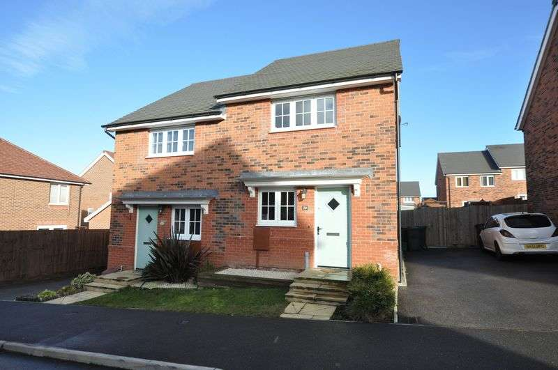 2 Bedrooms Semi Detached House for sale in ASHFORD WAY, CHURCH GRESLEY