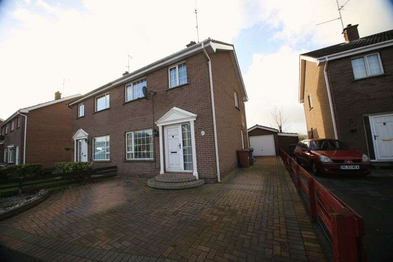 3 Bedrooms Semi Detached House for sale in 34 Glenmahon Park, Portadown
