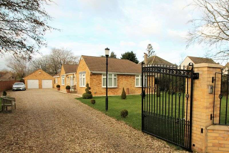 4 Bedrooms Detached Bungalow for sale in School Lane, Castle Eaton, Wiltshire.