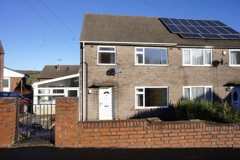 3 Bedrooms Semi Detached House for sale in Moxon Close, Deepcar, Sheffield, S36 2RQ