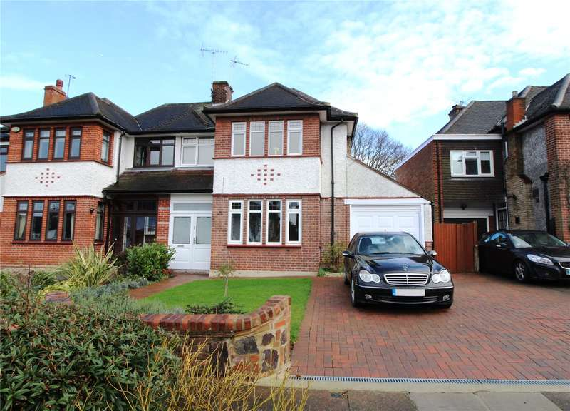 5 Bedrooms Semi Detached House for sale in The Ridgeway, Southgate, N14