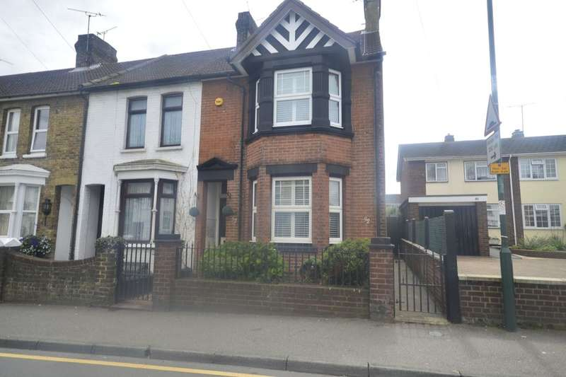 3 Bedrooms Semi Detached House for sale in Station Road, Rainham, Gillingham, ME8