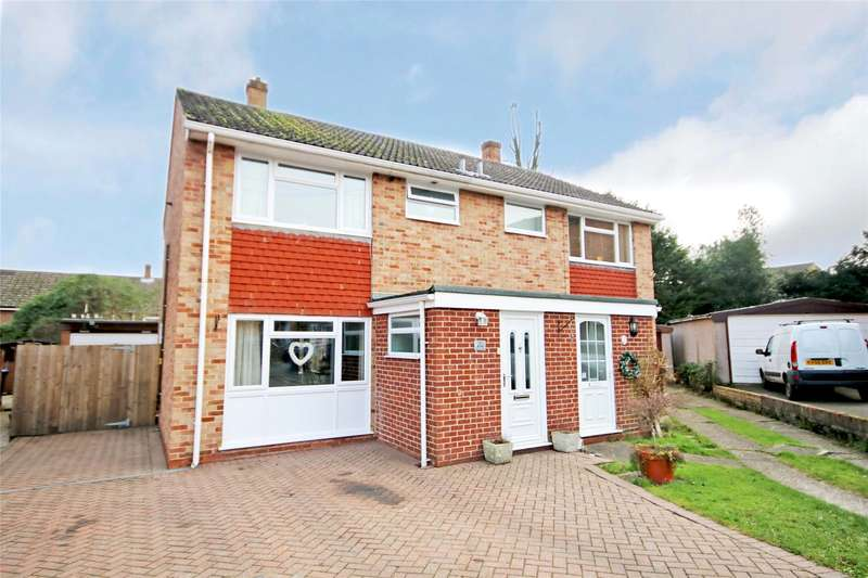3 Bedrooms Semi Detached House for sale in Liberty Rise, Addlestone, Surrey, KT15