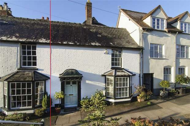 3 Bedrooms Town House for sale in Lower Broad Street, Ludlow, Shropshire