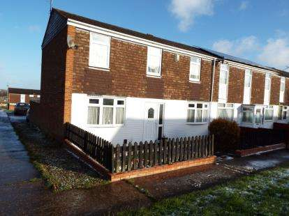 3 Bedrooms End Of Terrace House for sale in Brendon Way, Nuneaton, Warwickshire