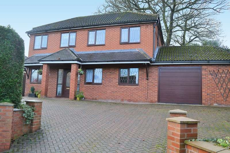 4 Bedrooms Detached House for sale in Brownsfield Road, Lichfield, WS13 6BX