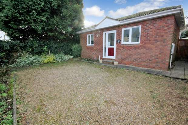 1 Bedroom Bungalow for sale in St Michaels Close, Harpenden