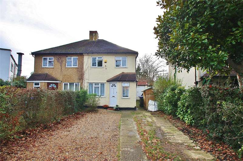 3 Bedrooms Semi Detached House for sale in Hermitage Road, St Johns, Woking, GU21