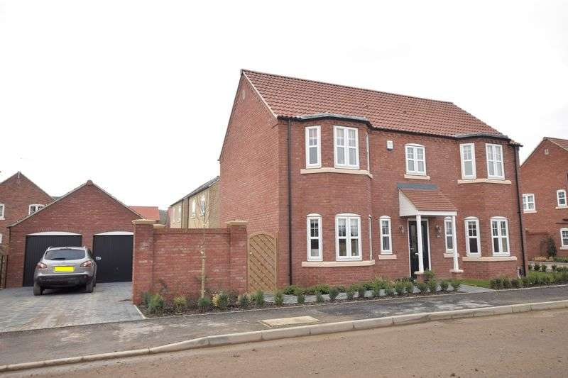 4 Bedrooms Detached House for sale in Rutland Avenue, Waddington, Lincoln