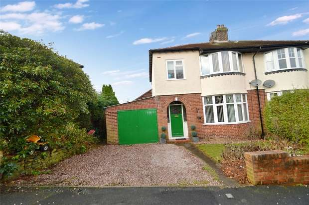 3 Bedrooms Semi Detached House for sale in Park Crescent, Furness Vale, High Peak, Derbyshire
