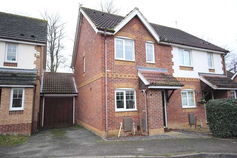 2 Bedrooms Semi Detached House for sale in Rivets Close, Lavender Grange