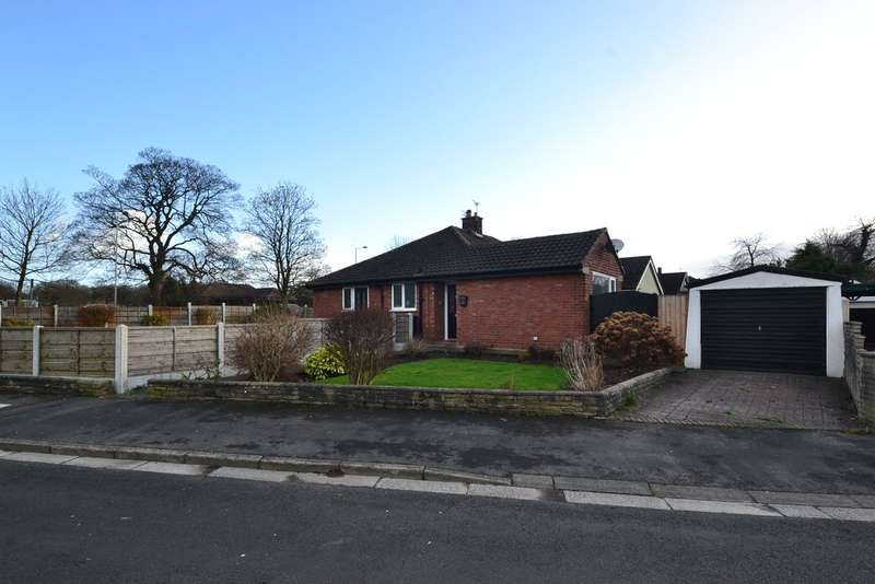 2 Bedrooms Semi Detached Bungalow for sale in Yew Tree Avenue, Hazel Grove, Stockport, SK7 6AW