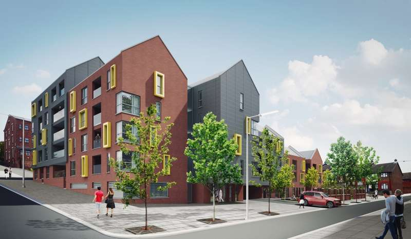 2 Bedrooms Apartment Flat for sale in Salisbury Street, Liverpool, L3
