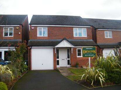 4 Bedrooms Detached House for sale in Kings Park West, Birmingham, West Midlands
