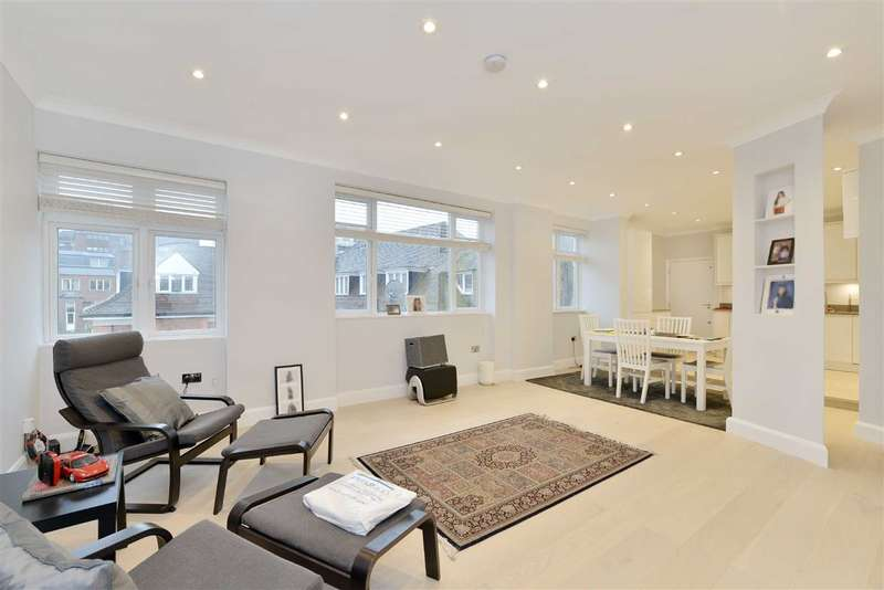 3 Bedrooms Flat for sale in Avenue Close, London, NW8