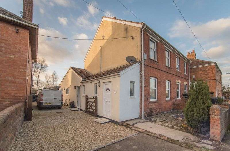 2 Bedrooms Semi Detached House for sale in Stoles Cottages, Bridgwater