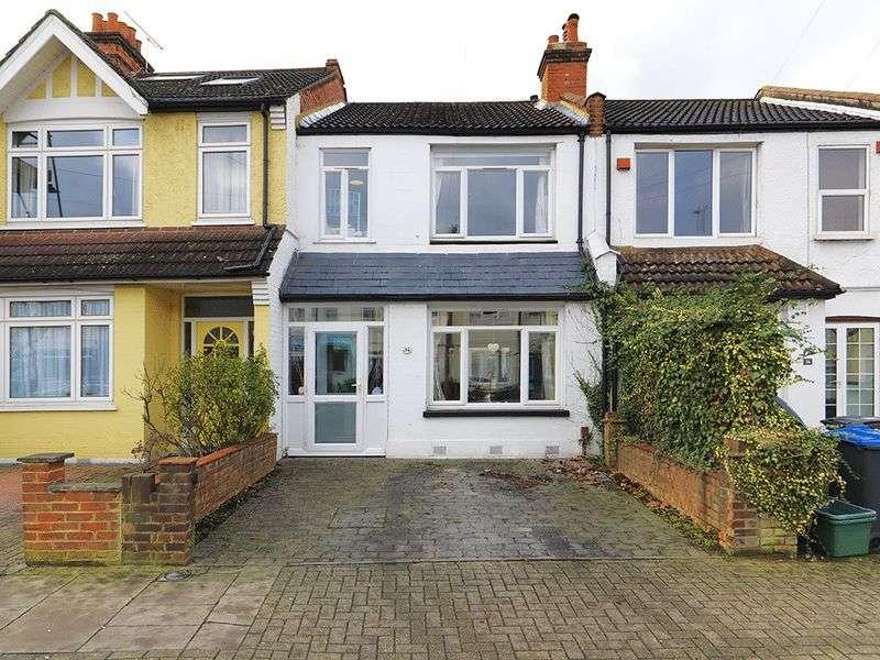 3 Bedrooms Terraced House for sale in Beverley Road, New Malden, KT3