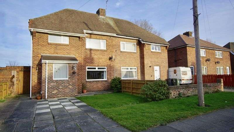 4 Bedrooms Semi Detached House for sale in HARLOW AVENUE Backworth