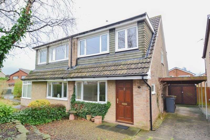 3 Bedrooms Semi Detached House for sale in Close to Hospital, Aysgarth Avenue, Preston