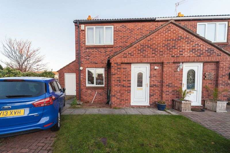 3 Bedrooms Semi Detached House for sale in Haven Court, Blyth