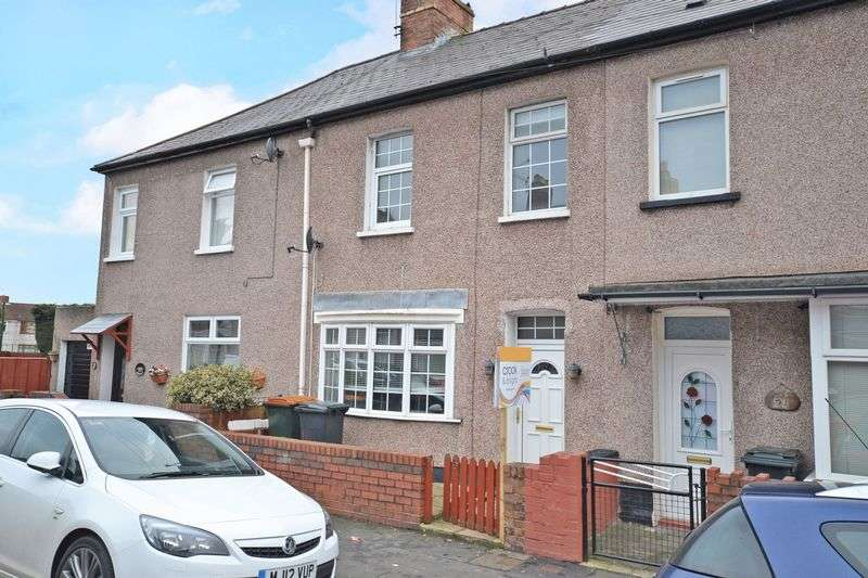 3 Bedrooms Terraced House for sale in Attractive Bay-Fronted House, Durham Road, Newport