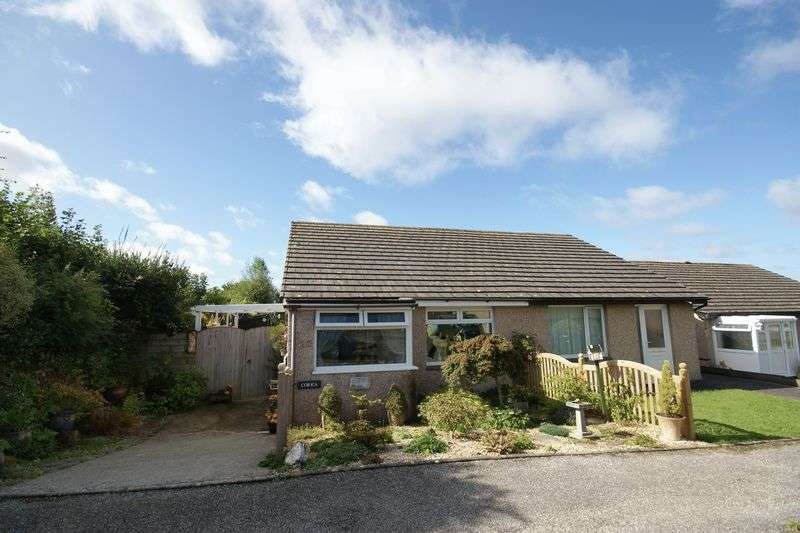 2 Bedrooms Semi Detached Bungalow for sale in Penquite Drive, Bodmin