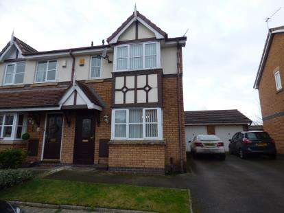 3 Bedrooms Semi Detached House for sale in Kings Meadow, Southport, Merseyside, Uk, PR8