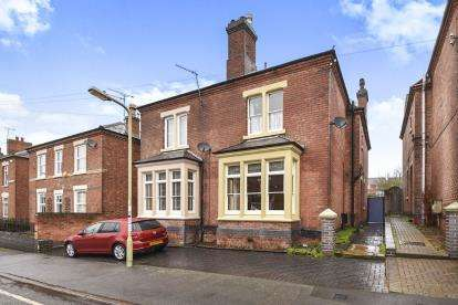 3 Bedrooms Semi Detached House for sale in Malvern Street, Burton-On-Trent, Staffordshire