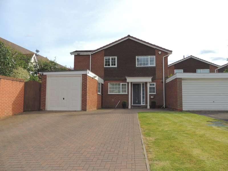 4 Bedrooms Detached House for sale in Woodshires Road, Solihull