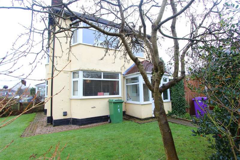 3 Bedrooms Semi Detached House for sale in Heyscroft Road, Woolton, Liverpool