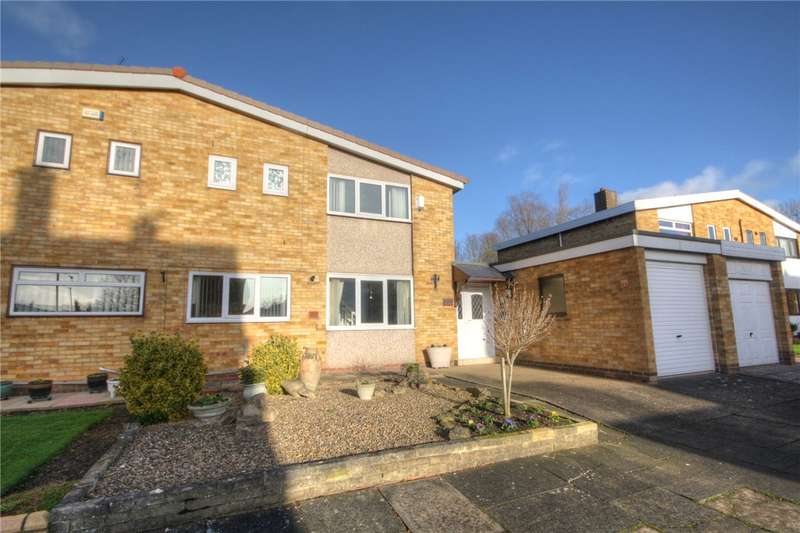 3 Bedrooms Semi Detached House for sale in Hylton Close, Newton Aycliffe, County Durham, DL5