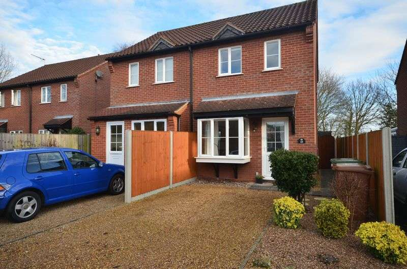 2 Bedrooms Semi Detached House for sale in Rackheath, Norwich