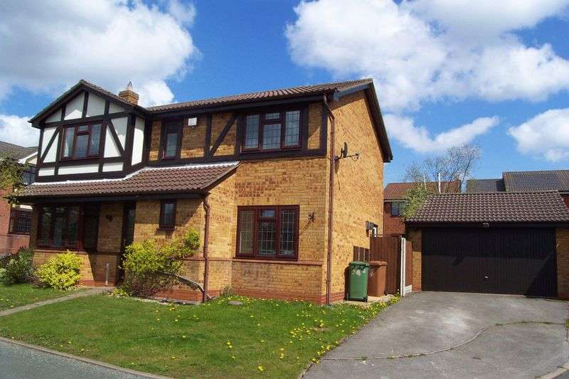 4 Bedrooms Detached House for sale in Diana Close, Upper Stonnall, Walsall.